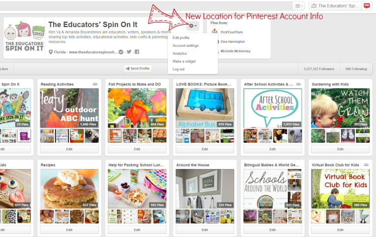 How to Manage your account setting on Pinterest