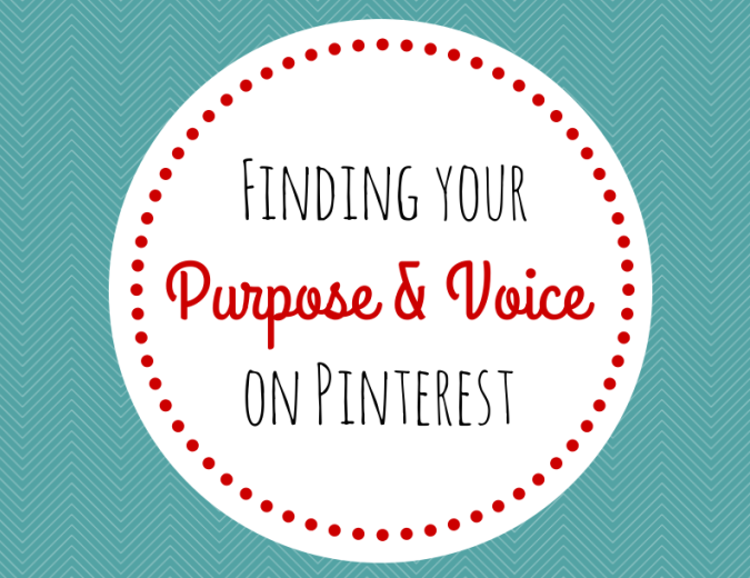 Tips for Finding your Voice on Pinterest