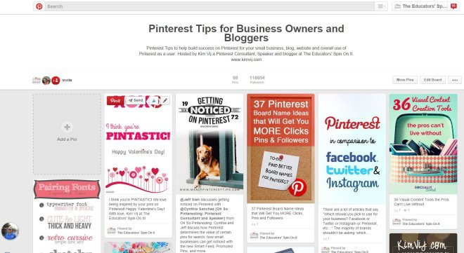 Pinterest Board featured how to Share Pins on Pinterest.