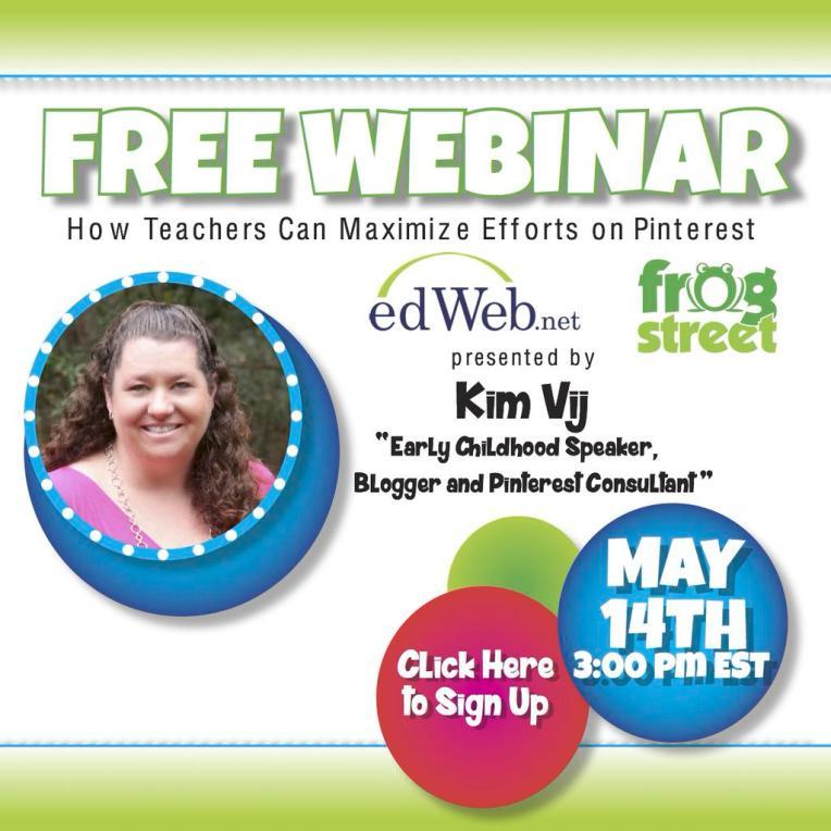 Pinterest Webinar for Teachers