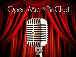 #PinChat hosts Open Mic nights where community members called #pinchatters join in and share their own observations and questions too.