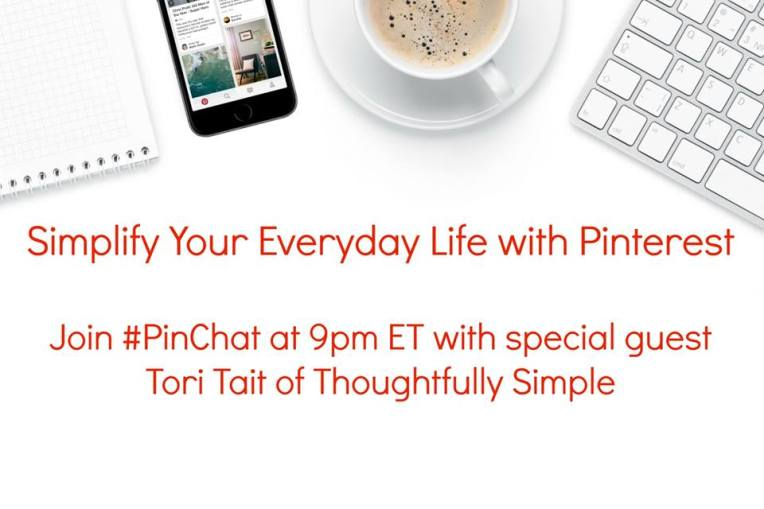 Using Pinterest to Help Simplify Everday Life