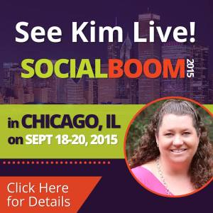 Social Boom Conference in Chicago with Kim Garst