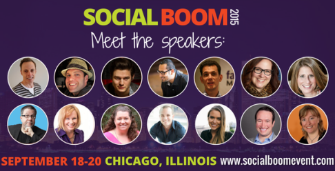 Speakers at Social Boom Conference in Chicago